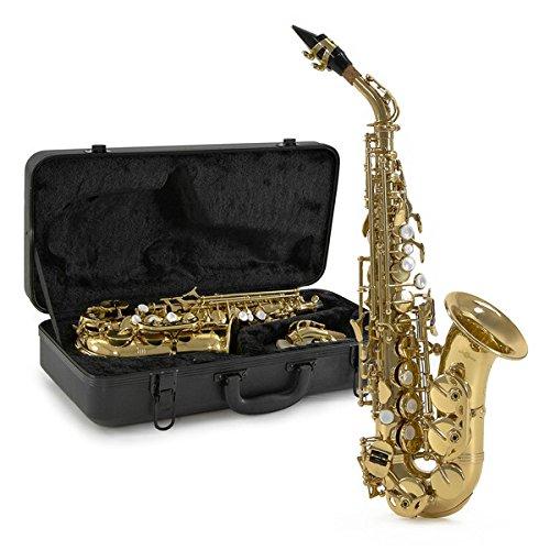 Saxofón Soprano Curvo de Gear4music