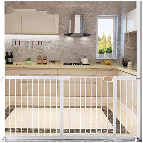 FCXBQ Baby Gate Safety Guardrail Baby Gate Play Yard Pet Door Bar Enfants Indoor Window Guardrail Enfants Poinçonnage Gratuit (Couleur: Blanc, Taille: 65-72cm)