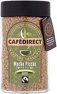 Cafedirect Instant Coffee Medium Roast Machu Picchu - 100g