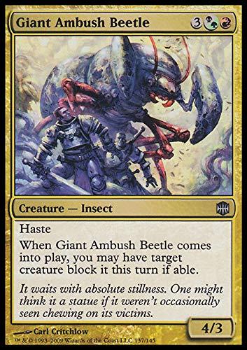 Magic The Gathering - Giant Ambush Beetle - Cucarachas gigantes en agguato - Alara Reborn - Foil