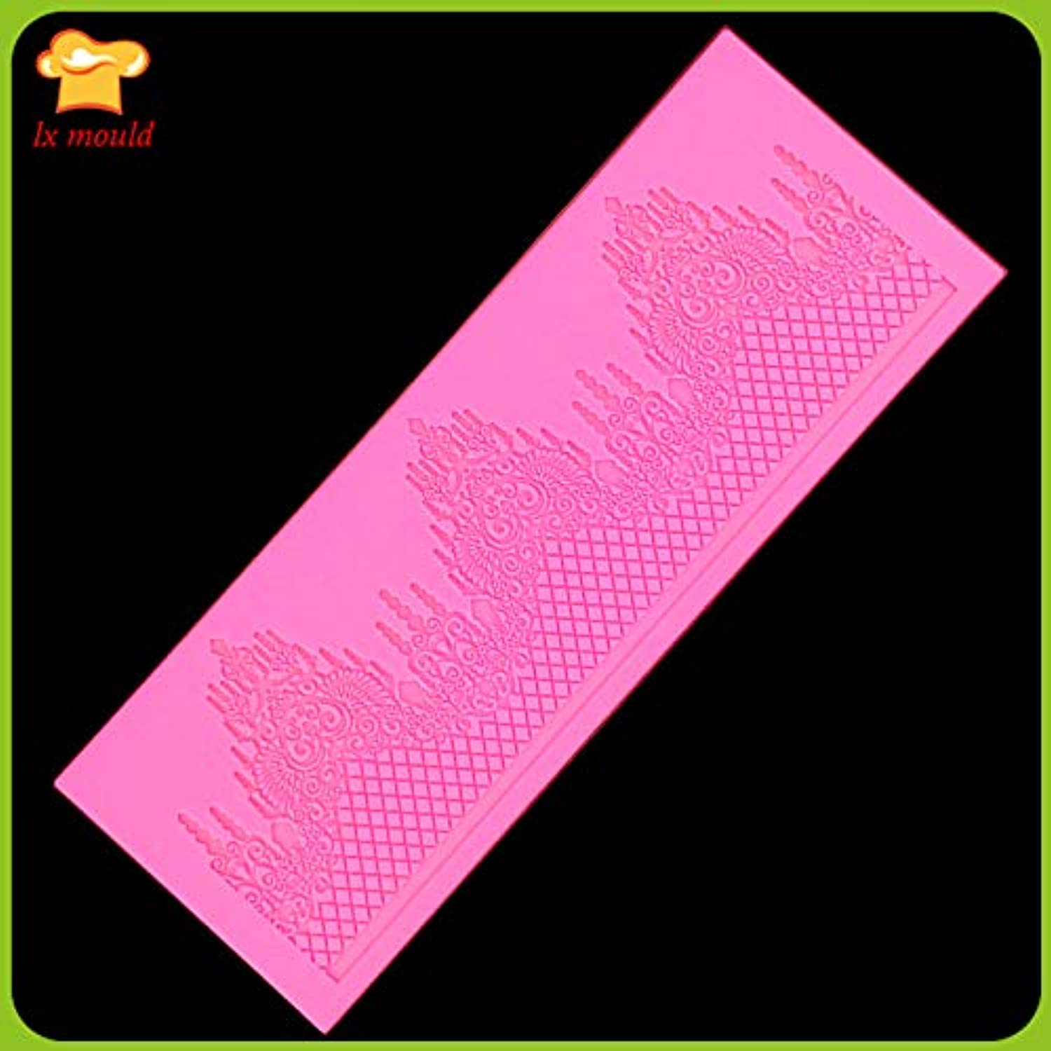 Lace Sugar Icing Silicone mat for Cake Decorating Baking Tool