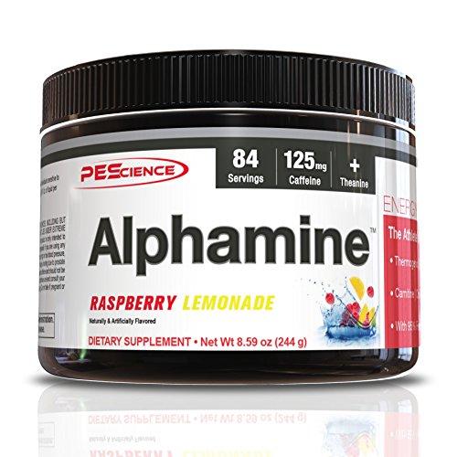 PEScience Alphamine, Himbeere Lemonade - 244 g