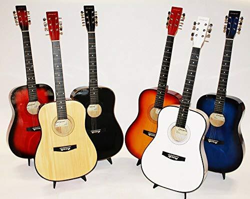 Cherrystone Konzertgitarre Akustik Gitarre Schülergitarre Farbwahl MY 41 (blueburst)