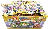 Magic Box SUPERZINGS Caja Completa 30 Sobres 2 Personajes Cada uno (2 héroe o 2 Enemigo) 60 Personajes Total Originales Rivals of Kaboom Serie 4