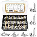435-Pieces Vigrue Phillips Drive Wood Screws Self Tapping Screws Kit