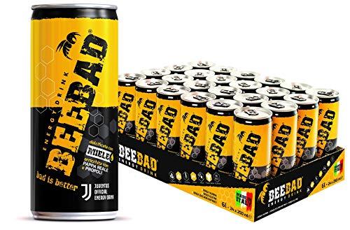 BEEBAD® Energy Drink - (cartone da 24 lattine da 250ml)