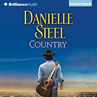 Country audiobook cover art