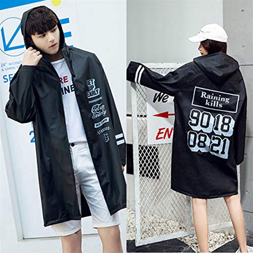 SQUAREDO Raincoat pour Kids Rain Jacket Age 1-10 Dinosaur Shaped Lightweight Rainwear Rain Slicker for Boy for Girl