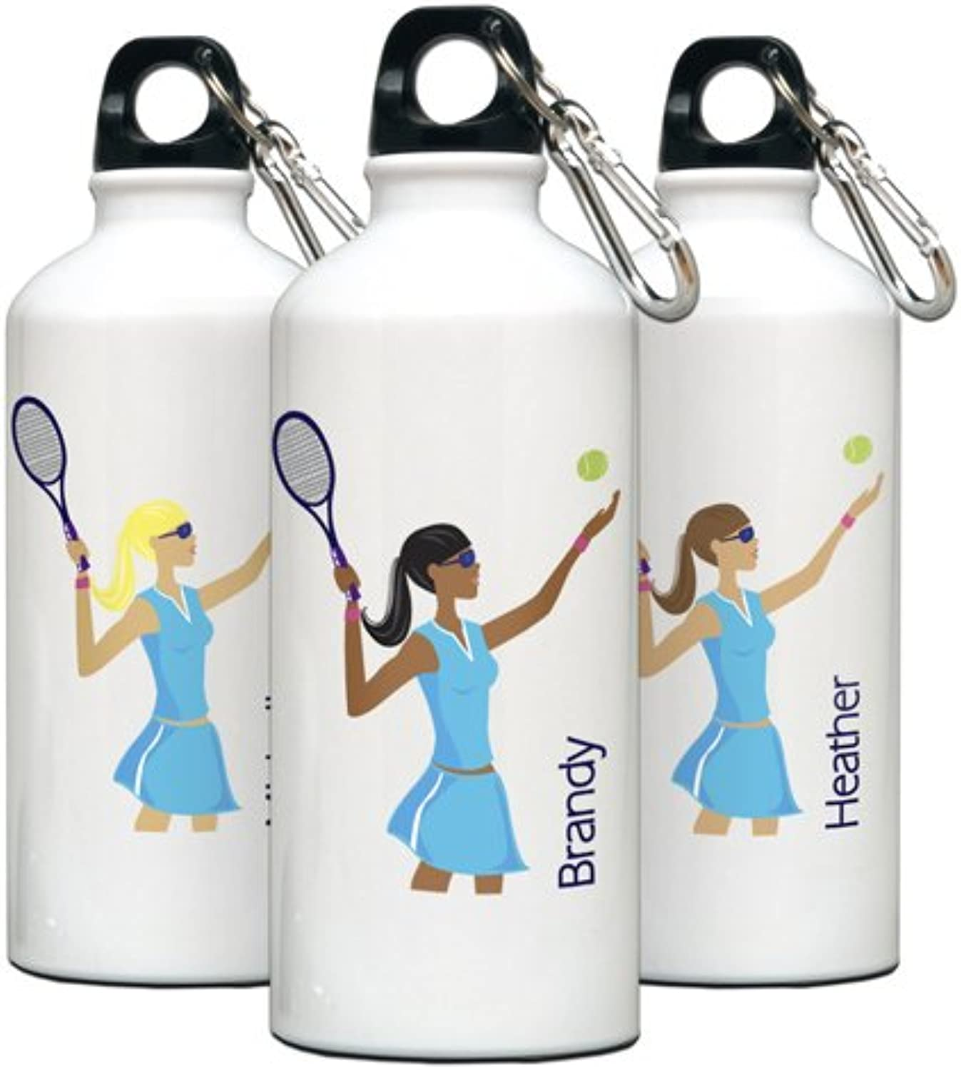 Personalized GoGirl Tennis Water Bottle