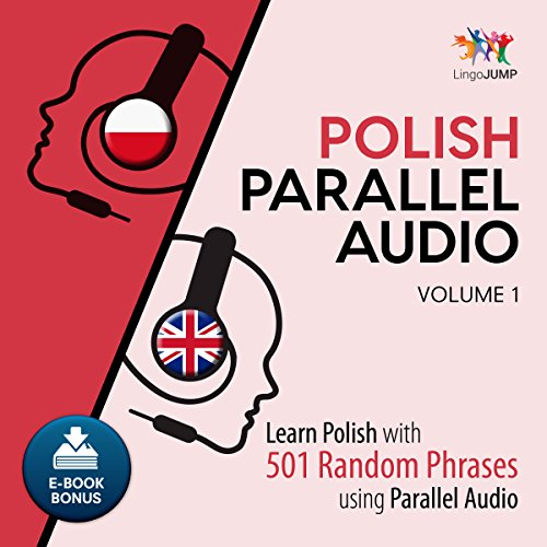 Polish Parallel Audio - Learn Polish with 501 Random Phrases Using Parallel Audio - Volume 1 Titelbild