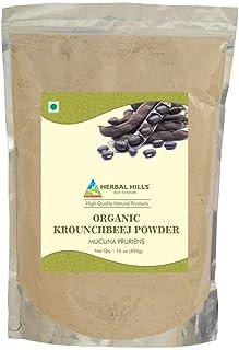 Herbal Hills Organic Krounchbeej Powder - mucuna pruriens Powder - 454 GMS (16 oz) - USDA Certified Supplements, Vegan-Fri...
