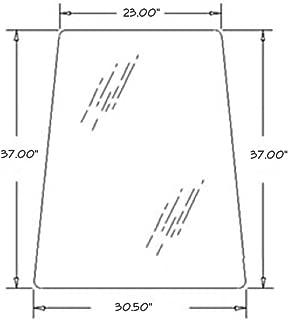 Cab Glass - Door Upper New Holland LB75B LB75CP LB75 LB115B LB90B LB110B LB90 LB110 LB115 85801626 Ford 675E 655E 555E 575E