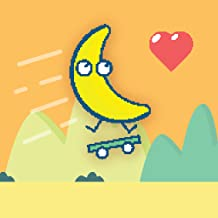 Banana on a Skateboard: Fruit on wheels - popular super simple fun games for free 2018 (no wifi)