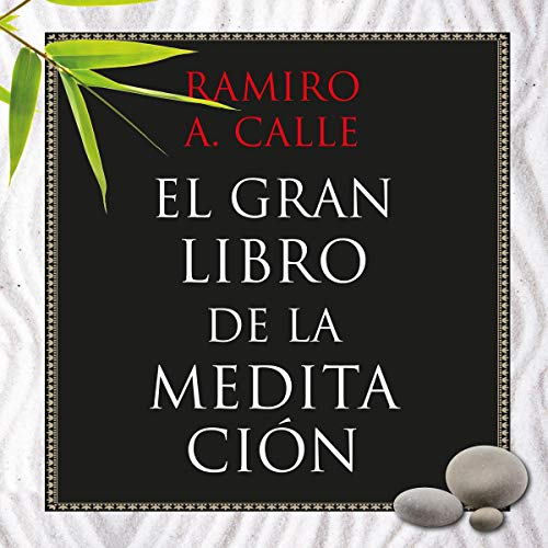 Diseño de la portada del título El gran libro de la meditación