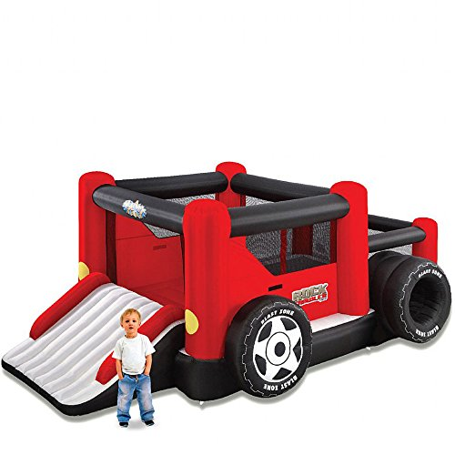 Blast Zone Rock Crawler - Inflatable Bounce House with Blower - Slide...