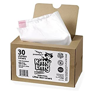 Cat Litter Box Liners 30 Count Drawstring Cat Waste Liners (B01GQRBZWM) | Amazon price tracker / tracking, Amazon price history charts, Amazon price watches, Amazon price drop alerts
