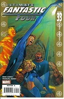 Ultimate Fantastic Four #33 : God War Part One (Marvel Comics)
