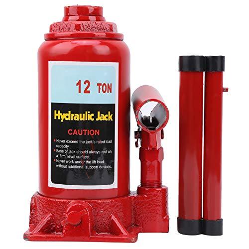 WANZSC Gatos de Botella hidráulicos para la construcción de automóviles Industrial Agrícola 12 toneladas, Gatos de Botella hidráulicos 12T Botella hidráulica