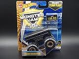 Monster Jam Hot Wheels Higher Education Die-Cast Car #3/3 [Black Out]