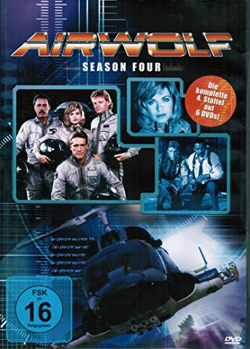 Airwolf - Season 4 (6 DVDs)