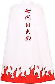 Men's Uzumaki Cloak 7th Hokage Cloak Boruto Cosplay Costume