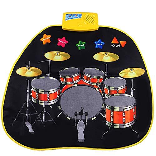 PUDDINGT® Juego de Batería para Instrumentos Musicales Eléctricos para Instrumentos de Juguete...