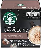 Starbucks Cappuccino Coffee Capsules, 120g - Pack of 1