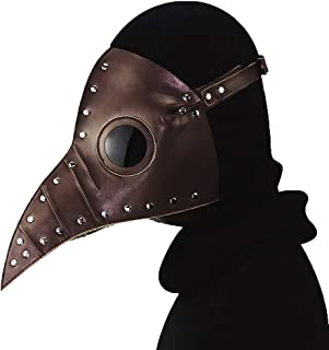 YOUTH UNION Steampunk Plague Doctor Bird Mask Long Nose Beak Cosplay Halloween Christmas Costume Props