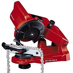 Einhell GC-CS 85 E - Afilador para cadenas de motosierra, 85 W, ralentín 5500 min-1 (ref. 4499920)