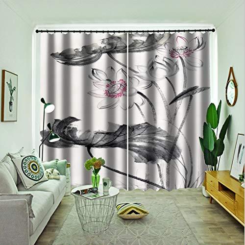 Oukeep 3D-Digitaldruck Mode Home Vorhang...