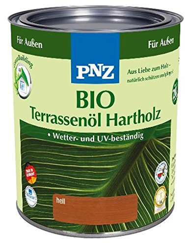 PNZ–Bio Terrazas aceite de madera dura (claro, 0,75l)