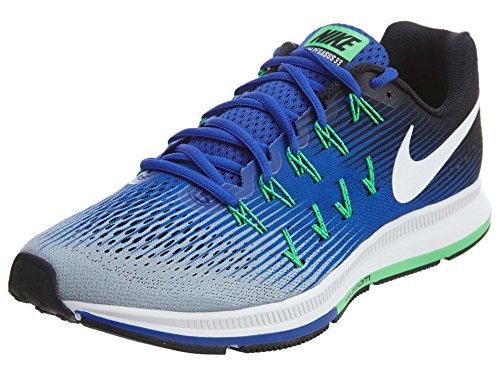 Nike Air Zoom Pegasus 33, Zapatillas de Running Hombre, Varios Colores (Wolf Grey/White/Cool Grey/Black), 41 EU