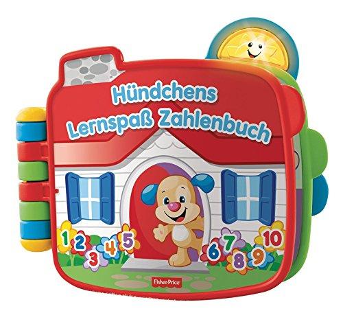 Fisher-Price Mattel CDK26 - Lernspaß Hündchens Zahlenbuch
