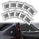 ZHANGDA 10 Pièces Voiture-Style Jbl Voiture Audio Décorer pour Nismo Juke Tiida Teana GTR 350Z 370Z 240Sx Ect Décorations Intérieures Autocollant