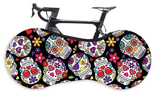 Rueda Bicicleta Cubierta de rueda de bicicleta del camino de MTB cuadro de la bicicleta Protección Anti-polvo impermeable al aire libre del protector de accesorios de la bicicleta Cubierta Protectora
