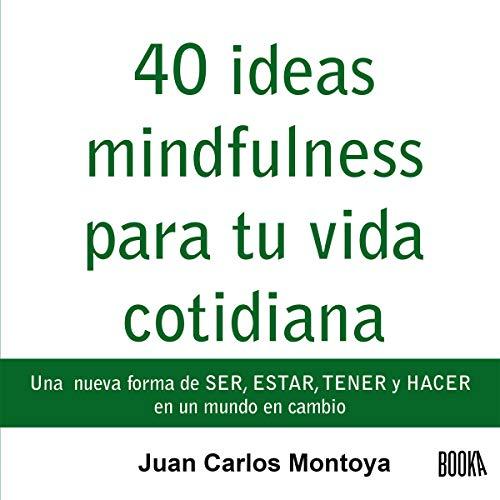 40 Ideas Mindfulness para Tu Vida Cotidiana [40 Mindfulness Ideas for Your Daily Life] audiobook cover art