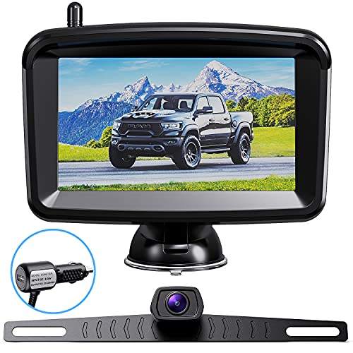Xroose Wireless Backup Camera - 5 Inch Rear View...