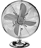Westinghouse 12' Lightweight Vintage Metal Stand Fan with Heavy Duty 1400 CFM High Velocity 35-Watt Motor - 75-degree Oscillating Function – Ideal for Industrial, Commercial, and Residential Use