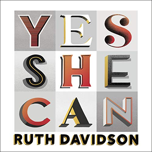 Yes She Can audiobook cover art