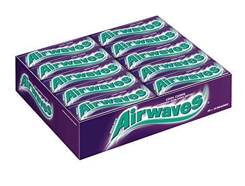 Airwaves Kauwgom zonder suiker – 30 verpakkingen met elk 10 dragees – 420 g