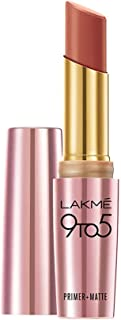 LAKME 9 To 5 Matte Lip Color, Maple Map MP14, 3.6 g