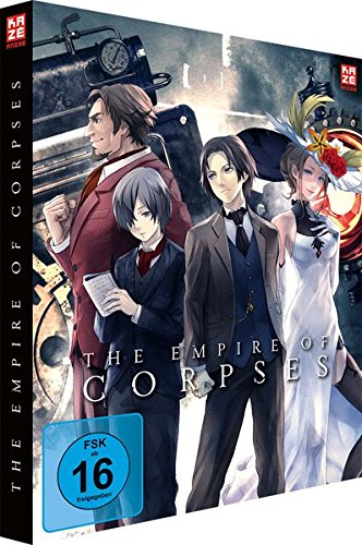 Project Itoh: The Empire of Corpses - Vol.1 - [DVD & Blu-ray] Steelbook - Collector's Edition
