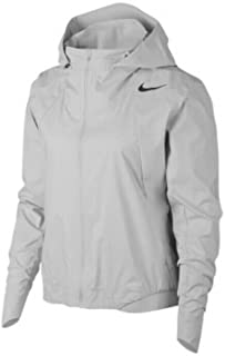 Nike Womens AeroShield Running Jacket Vast Grey Size Medium 929124-092