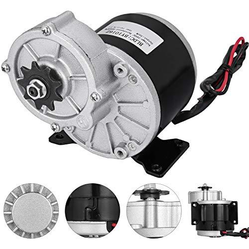 Moracle Motor Eléctrico 24 V y 350 W con Engranaje para Bic
