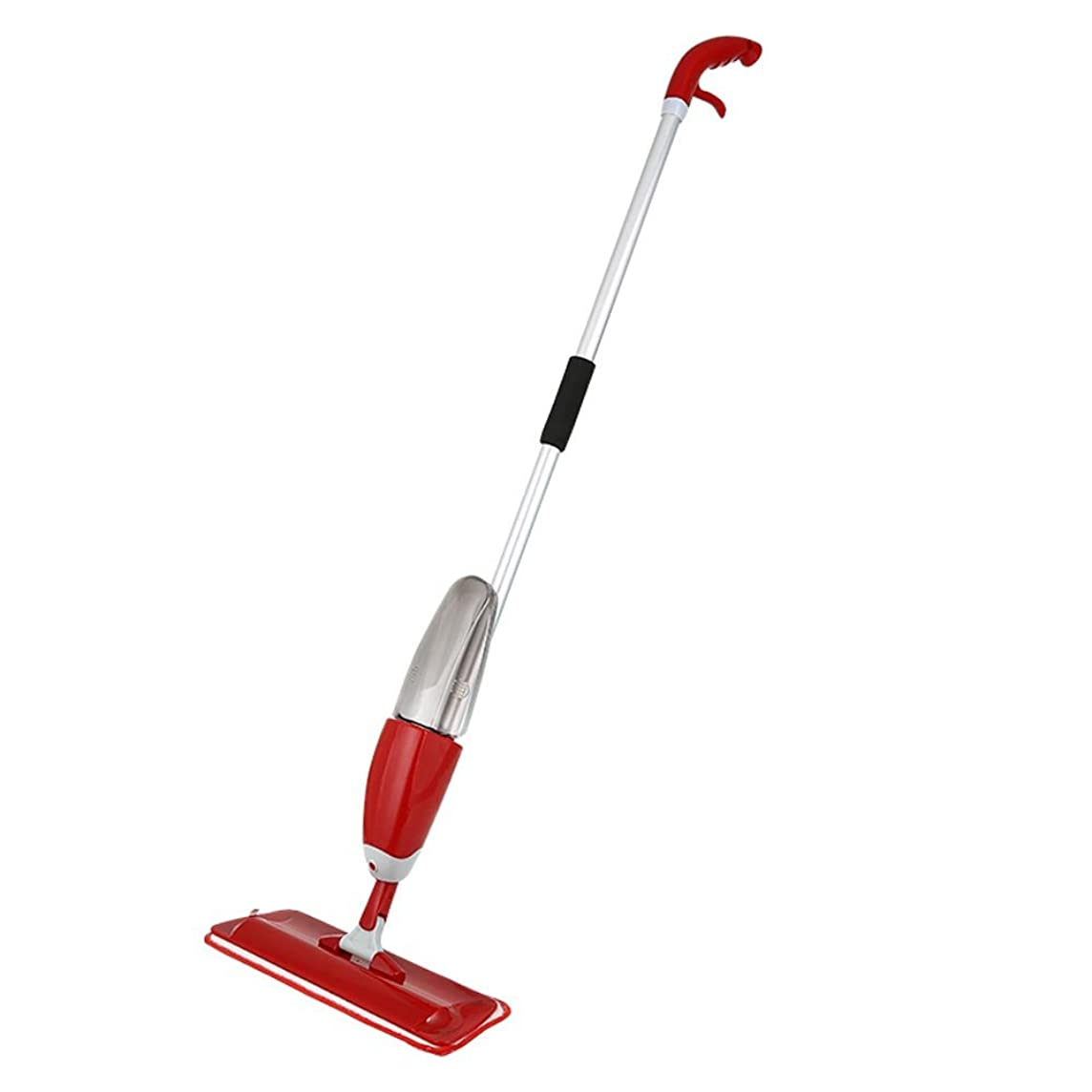 Pstars Practical Spray Mop Household Dust Cleaning for Floor Cleaning Reusable Microfiber Pad Red