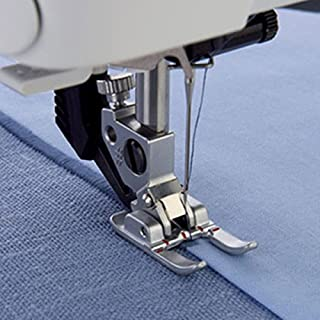 YEQIN Open Toe Satin Stitch Metal Applique Foot 9mm Foot for Pfaff #93-036933-91