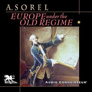 Europe Under the Old Regime audiobook cover art