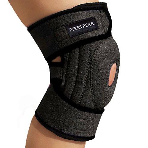 膝サポータースポーツ膝膝用膝固定関節靭帯保護ひざ怪我防止通気性左右兼用男女兼用サイズ別