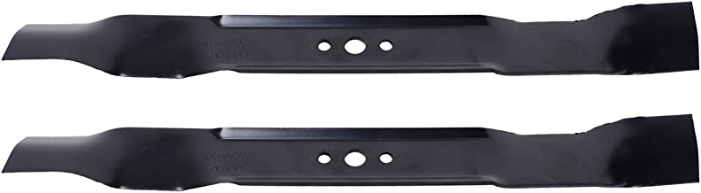 USA Mower Blades (2) AYP486BP Mulching Blade Fits AYP Craftsman Husqvarna 165833 165833B 175064 176135 189028 406706 406712 Length 21 in. Width 2 1/4 in. Thickness .150 in. Center Hole 5/8 in. 21 in. Deck