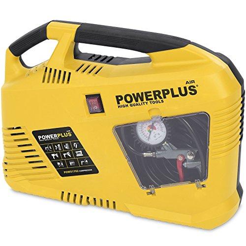 Powerplus POWX1702 Druckluft Kompressor - 3